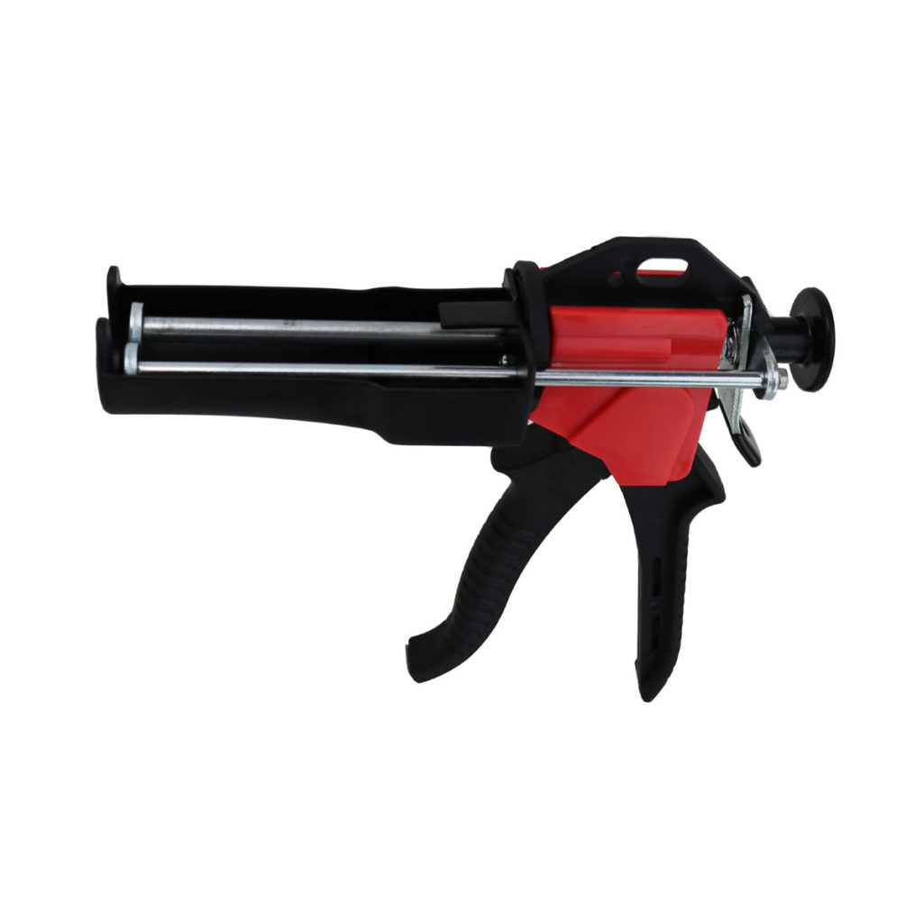 dual cartridge caulk gun