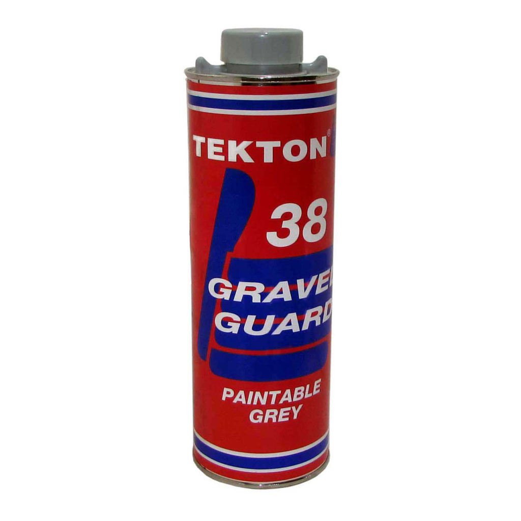 Tekton undercoating gravel guard